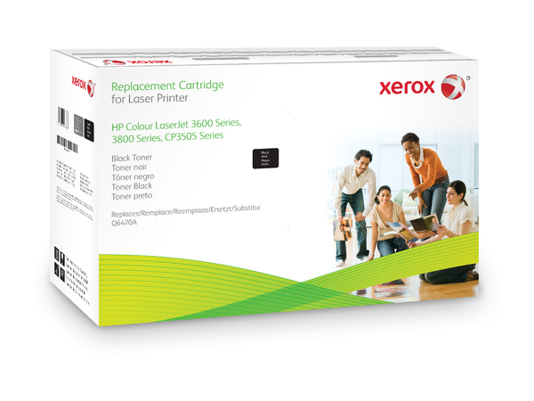 Xerox HP Colour LaserJet CP3505 series - Schwarz - Tonerpatrone (Alternative zu: HP Q6470A) - für HP Color LaserJet 3600, 3800, CP3505