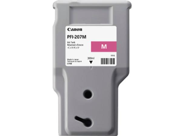 Canon PFI-207 M - 300 ml - Magenta - Original - Tintenbehälter - für imagePROGRAF iPF680, iPF685, iPF780, iPF785