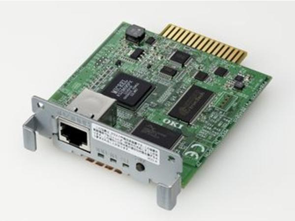 Okilan 7130e - Druckserver - 10/100 Ethernet - für Microline 4410