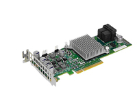 Supermicro Add-on Card AOC-S3008L-L8e - Speicher-Controller - 8 Sender/Kanal - SATA 6Gb/s / SAS 12Gb/s Low Profile - 1.2 GBps - PCIe 3.0