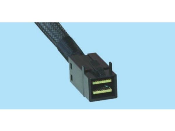 Supermicro - Internes SAS-Kabel - 4x Mini SAS HD (SFF-8643) (M) bis 4x Mini SAS HD (SFF-8643) (M) - 25 cm