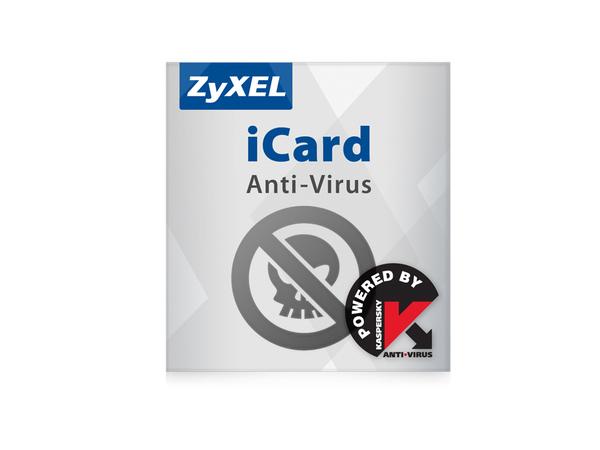 Zyxel E-iCard Kaspersky AV - Aktualisierung der Virendefinitionen - Abonnement - 1 Jahr - für Zyxel USG1100; ZyWALL 1100