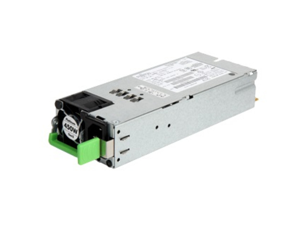 Fujitsu - Stromversorgung redundant / Hot-Plug (Plug-In-Modul) - 80 PLUS Platinum - 450 Watt - für PRIMERGY RX1330 M3, RX2520 M4, RX2530 M4, RX2540 M4, TX1320 M3, TX1330 M3, TX2550 M4