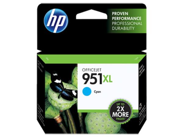 HP 951XL Twin Pack - 2er-Pack - Cyan - Original - Tintenpatrone - für Officejet Pro 251dw, 276dw, 8100, 8600, 8600 N911a, 8610, 8615, 8616, 8620, 8625, 8630