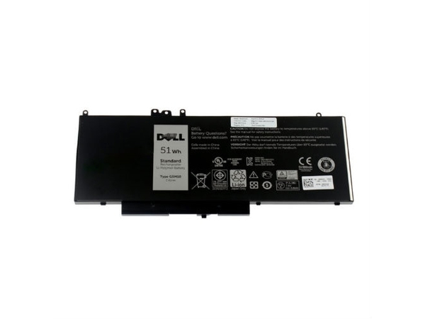 Dell - Laptop-Batterie (Primary) - 1 x 4 Zellen 51 Wh - für Latitude 12 Rugged Extreme (7204), E5250, E5450, E5550
