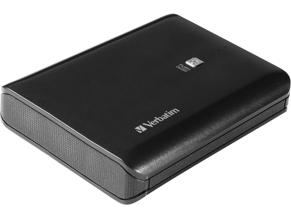 Verbatim 49952, Schwarz, Universal, 10000 mAh, USB, 5 V, Micro-USB