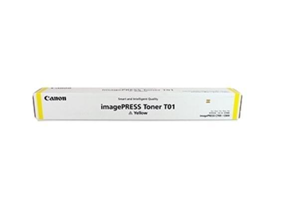 Canon T01 - Gelb - Original - Tonerpatrone - für imagePRESS C800