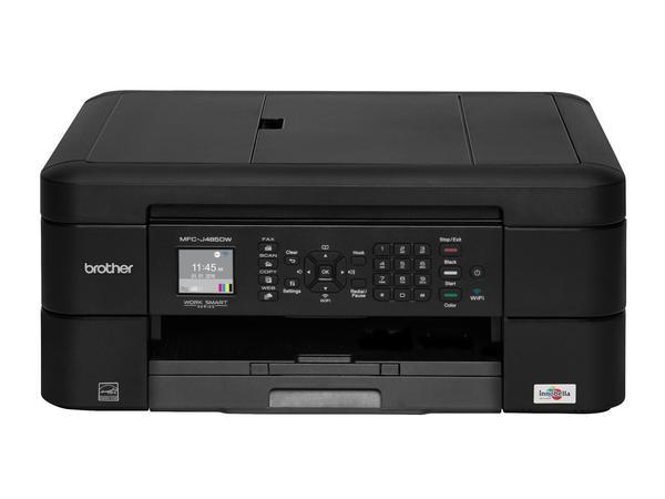 Brother MFC-J480DW, Tintenstrahl, Farbdruck, 1200 x 6000 DPI, 100 Blätter, A4, Schwarz