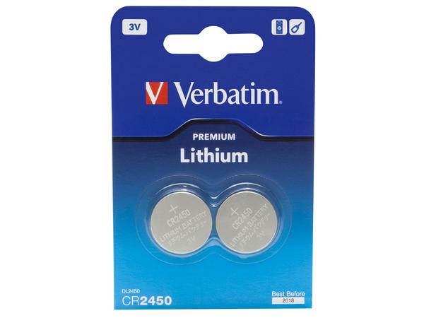 Verbatim Premium - Batterie 2 x CR2450 - Li