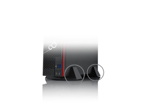 Fujitsu - Thin Client Füße (Packung mit 2) - für ESPRIMO D556, D757, D757/E94, D956, D957, D957/E94, P557, P757, P757/E94, P957, P957/E94