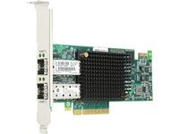 Emulex Gen 6 - Hostbus-Adapter - PCIe 3.0 x8 Low-Profile - 16Gb Fibre Channel x 2 - für ThinkSystem SR250; SR590; SR645 7D2X; SR850 V2 7D32; ST250