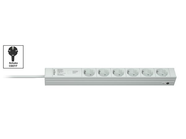 Vertiv Knürr Di-Strip, Standard, 1U, 16 A, 6 AC-Ausgänge