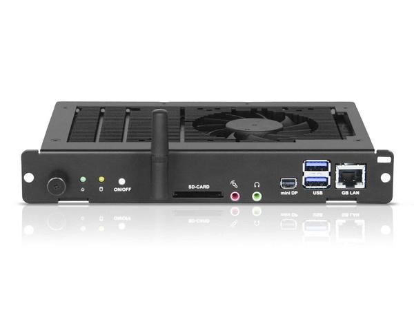 NEC Slot-In PC - Digital Signage-Player - Intel Core i7 - RAM 4 GB - Festplatte 64 GB - Windows 10 Pro