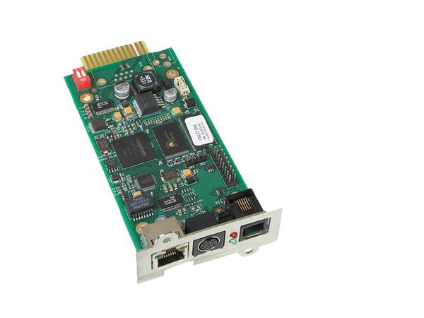 AEG SNMP Pro, Schnelles Ethernet, 10,100 Mbit/s, 60 mm, 44 mm, 120 mm, 66 g