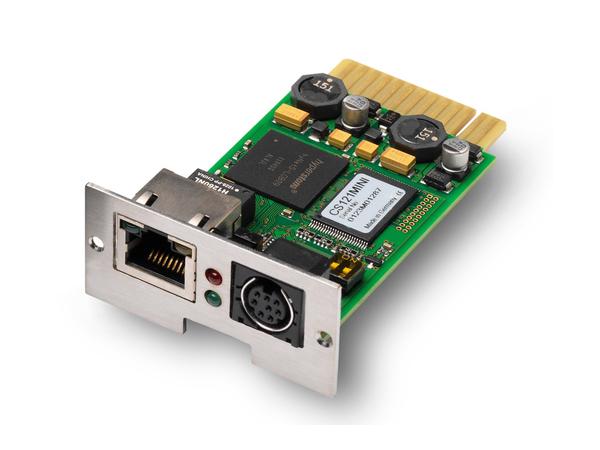AEG SNMP mini, Schnelles Ethernet, 10,100 Mbit/s, 26 mm, 42 mm, 80 mm, 36 g