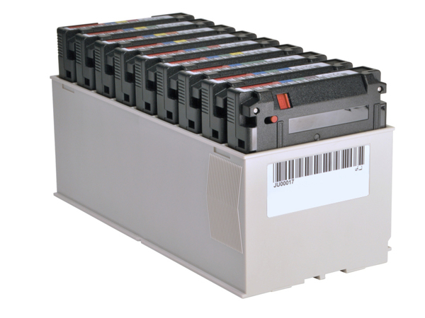 HPE JD Custom Labeled TeraPack Certified - Storage Library Cartridge Magazine - Kapazität: 9 TS1150 tapes - für P/N: Q1G79A, Q1G81A