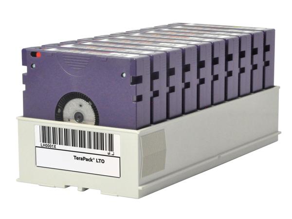 HPE Custom Labeled TeraPack Certified CarbideClean - Storage Library Cartridge Magazine - Kapazität: 10 LTO-7-Bandlaufwerke - für P/N: Q0H19A, Q0H20A