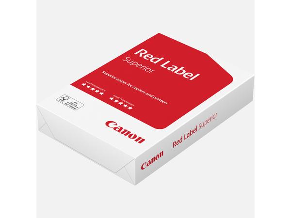 Canon Red Label Superior, A4 (210×297 mm), Laser-/Inkjet-Druck, Weiß, 80 g/m², 500 Blätter