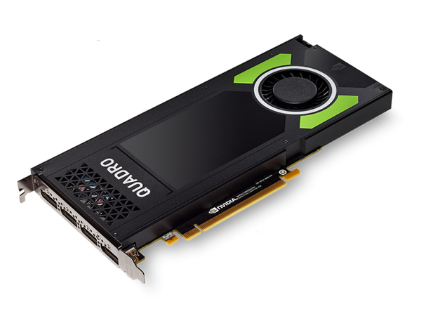 NVIDIA QUADRO P4000 - Grafikkarten - Quadro P4000 - 8 GB - PCIe x16 - 4 x DisplayPort