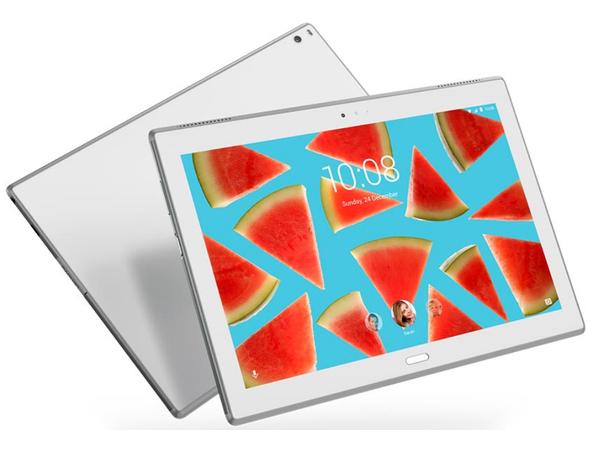 Lenovo TAB 4 10 Plus, 25,6 cm (10.1 Zoll), 1920 x 1200 Pixel, 64 GB, 4 GB, Android 7.0, Weiß