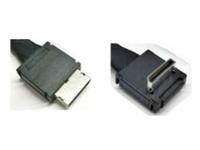 Intel OCuLink Cable Kit AXXCBL700CVCR - Internes SAS-Kabel - 4i MiniLink SAS (SFF-8611) (M) gerade bis 4i MiniLink SAS (SFF-8611) (M) rechtwinklig - 70 cm