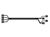 Intel OCuLink Cable Kit AXXCBL625CVCX - Internes SAS-Kabel - 4i MiniLink SAS (SFF-8611) (M) gerade bis 4i MiniLink SAS (SFF-8611) (M) - 62.5 cm