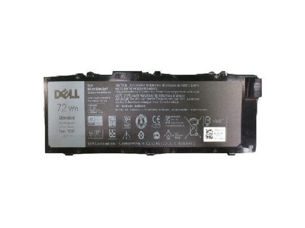 Dell Primary Battery - Laptop-Batterie - 1 x Lithium-Ionen 6 Zellen 72 Wh - für Precision Mobile Workstation 7510, 7710