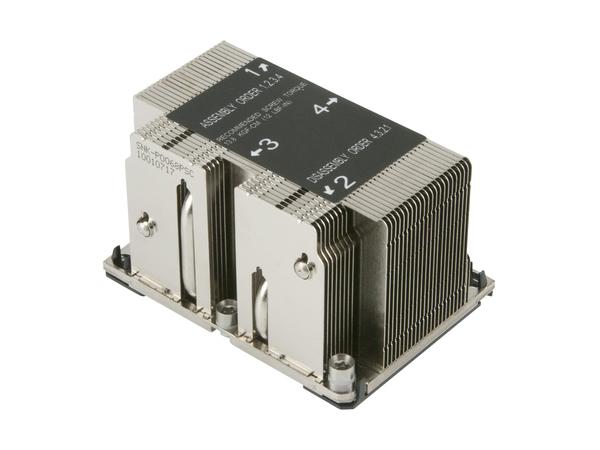 Supermicro - Prozessorkühler - (Socket P) - 2U - für SUPERMICRO X11DPH-T