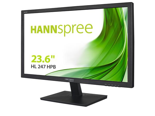 Hannspree Hanns.G HL 247 HPB, 59,9 cm (23.6 Zoll), 1920 x 1080 Pixel, LED, 5 ms, 250 cd/m², Schwarz