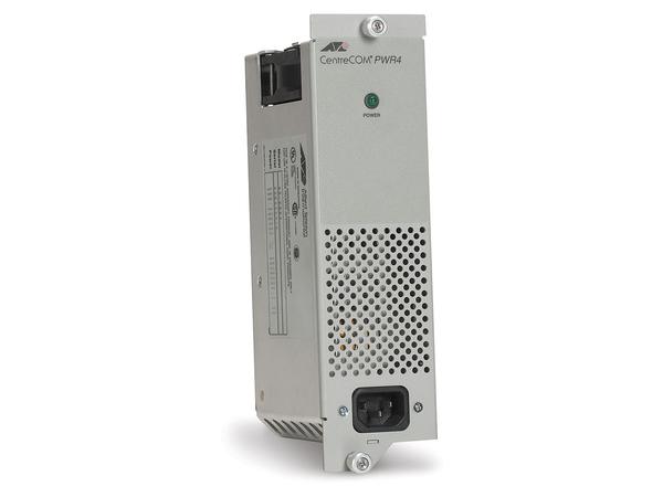 Allied Telesis - Stromversorgung Hot-Plug (intern) - Wechselstrom 200/240 V - 80 Watt - Europa - für AT MCR12