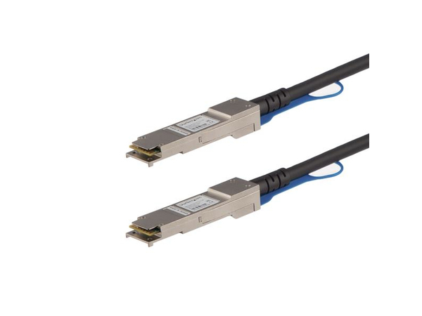 Juniper Networks 40 Gigabit Ethernet Passive Direct Attach Copper Cable - Direktanschlusskabel - QSFP+ bis QSFP+ - 3 m - twinaxial