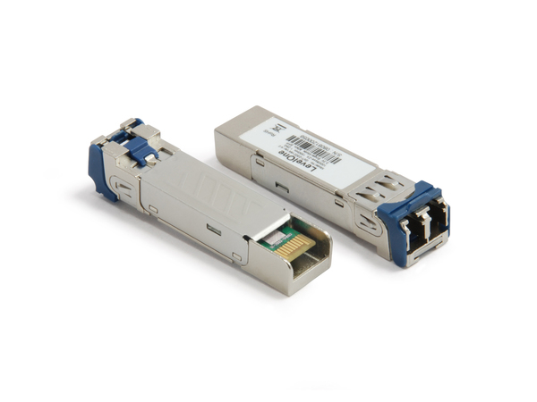 LevelOne GVT-0302 - SFP (Mini-GBIC)-Transceiver-Modul - GigE - 1000Base-ZX - LC - bis zu 70 km