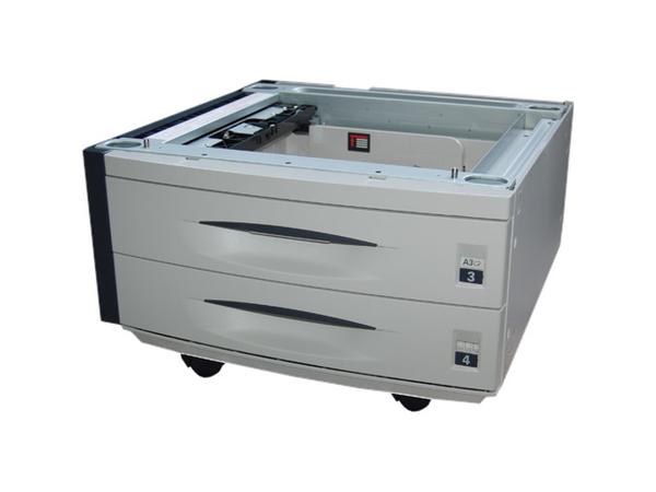 Kyocera PF 700 - Medienfach und -ablage - 1000 Blätter in 2 Schubladen (Trays) - für FS-9130DN, 9130DN/B, 9130DN/D; KM 3050, 4050, 5050