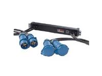 Eaton Enclosure Power Distribution Unit Monitored - Stromverteilungseinheit (Rack - einbaufähig) - Ethernet - Eingabe, Eingang IEC 60309 32A - Ausgangsanschlüsse: 1 (IEC 60309 32A)
