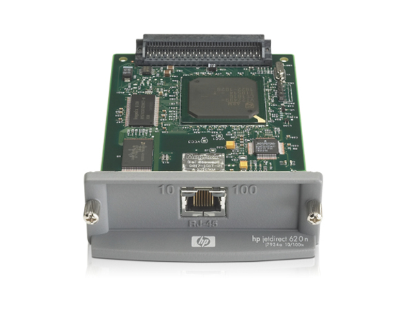 HP Jetdirect 620n, Ethernet-LAN, IEEE 802.3,IEEE 802.3u, 10,100 Mbit/s, 100BASE-TX,10BASE-T, TCP/IP, IPX/SPX, AppleTalk, IP Direct Mode, LPD, FTP Printing, IPP, Netware NDS, Bindery, NDPS,...,