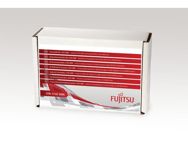 Fujitsu Consumable Kit: 3740-500K - Scanner - Verbrauchsmaterialienkit - für fi-7600, 7700, 7700S