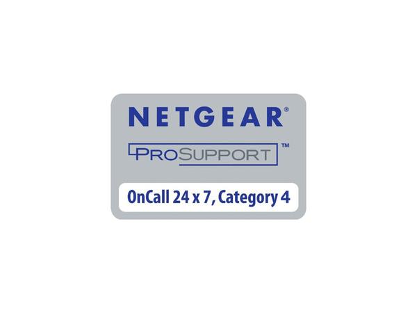 NETGEAR ProSupport OnCall 24x7 Category 4 - Technischer Support - Telefonberatung - 24x7 - für NETGEAR M6100-44G3-POE+